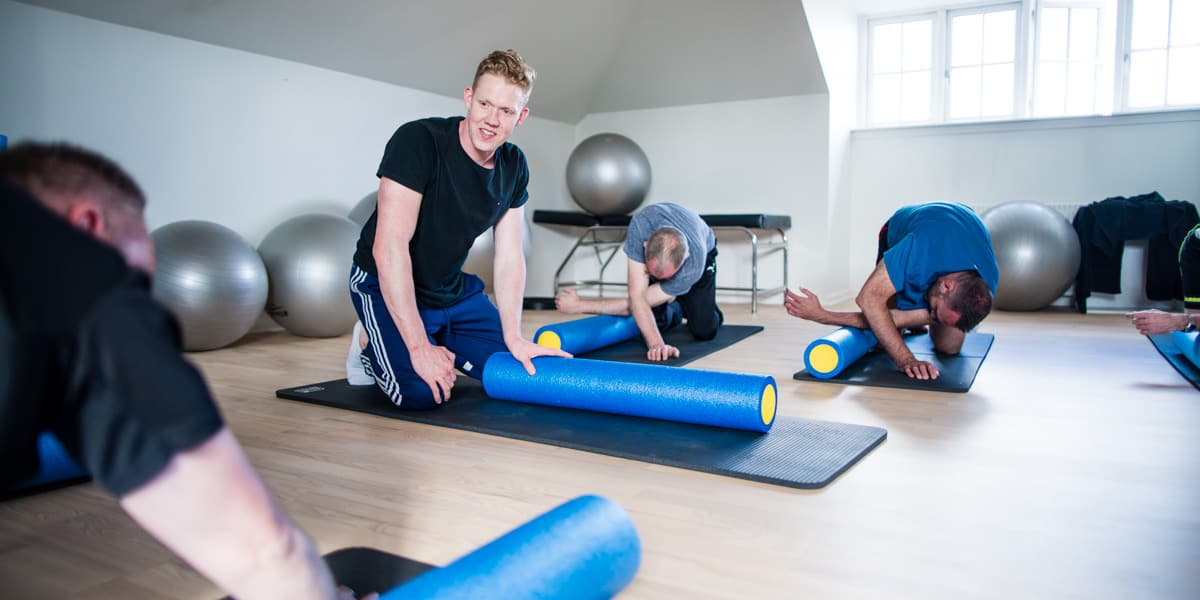 Rygtræning - Fysioterapi RygXperten Nyborg